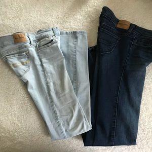 Girls Abercrombie skinny jeans
